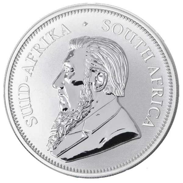 1 ounce Silver Krugerrand - Monster box of 500 - 2018 - South African Mint