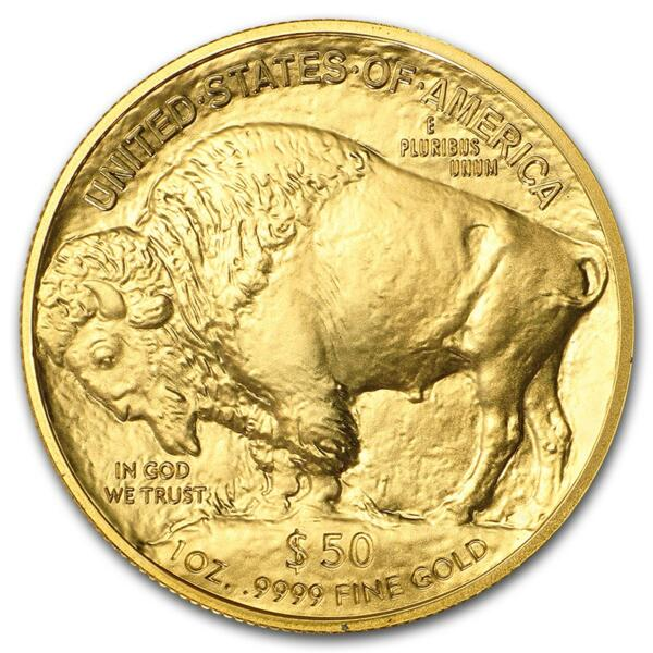 1 ounce Gold Buffalo - Roll of 10 - 2018 - US Mint
