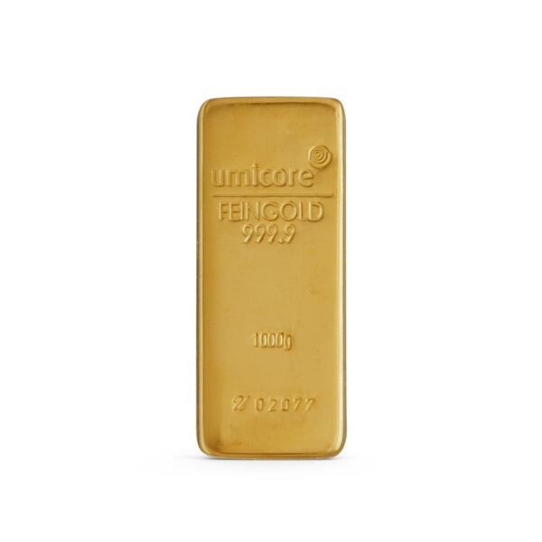 1 kilogram  Gold Bar - Umicore