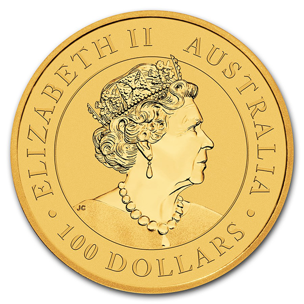 1 ounce Gold Kangaroo - Roll of 10 - 2019 - Perth Mint