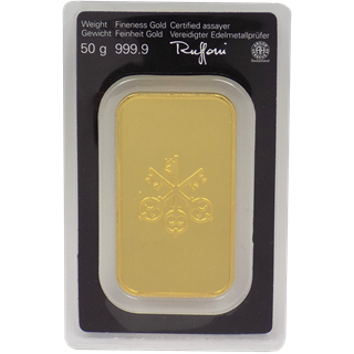 50 grams  Gold Bar - UBS