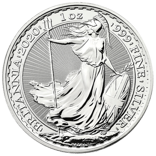 1 ounce Silver Britannia - Monster box of 500 - 2020 - The Royal Mint