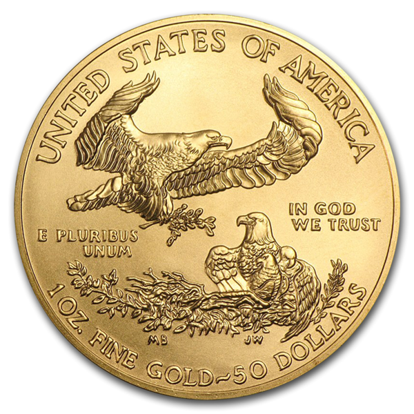 1 ounce Gold American Eagle - Roll of 10 - 2020 - US Mint