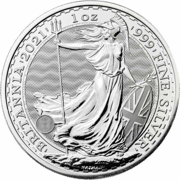1 ounce Silver Britannia - Monster box of 500 - 2017 - The Royal Mint