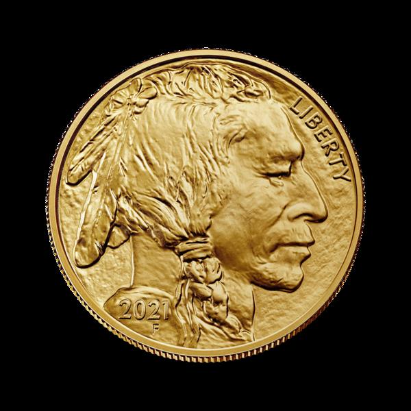 1 ounce Gold Buffalo - Roll of 10 - 2021 - US Mint