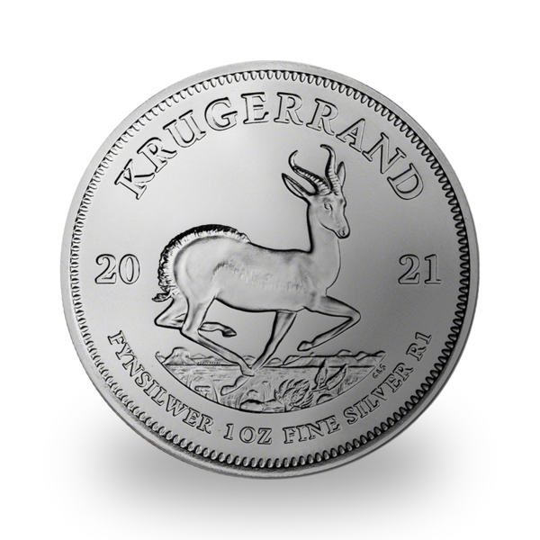 1 ounce Silver Krugerrand - Monster box of 500 - 2021 - South African Mint