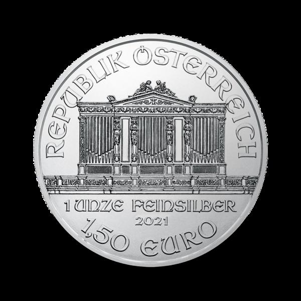 1 ounce Silver Philharmonic - Monster box of 500 - 2021 - Austrian Mint