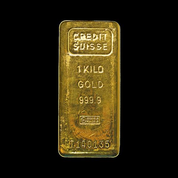 1 kilogram  Gold Bar - Crédit Suisse