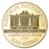 1 ounce Gold Philharmonic - Roll of 10 - 2019 - Austrian Mint
