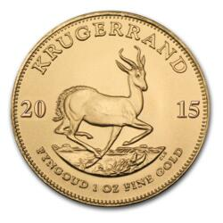 1 ounce Gold Krugerrand - Roll of 10 - Mixed years - South African Mint
