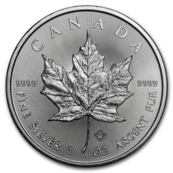 1 ounce Silver Maple Leaf - Monster box of 500 - Mixed years - Royal Canadian Mint
