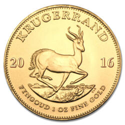 Moneda de Oro Krugerrand 1 onza - Tubo de 10 - 2016 - South African Mint
