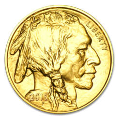 1 ounce Gold Buffalo - Roll of 10 - 2016 - US Mint
