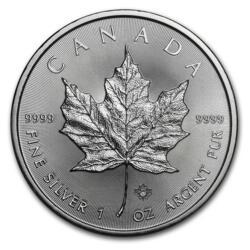 1 ounce Silver Maple Leaf - Monster box of 500 - 2017 - Royal Canadian Mint
