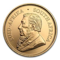 1 ounce Gold Krugerrand anniversary - Roll of 10 - 2017 - South African Mint