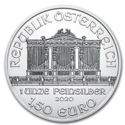 1 ounce Silver Philharmonic - Monster box of 500 - 2020 - Austrian Mint