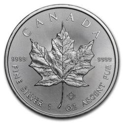 1 ounce Silver Maple Leaf - Monster box of 500 - 2020 - Royal Canadian Mint