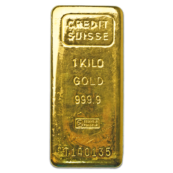 1 kilogram  Gold Bar - Crédit Suisse