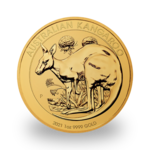 1 ounce Gold Kangaroo - Roll of 10 - 2021 - Perth Mint