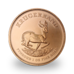 1 ounce Gold Krugerrand - Roll of 10 - 2021 - South African Mint