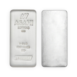 1 kilogram  Silver Bar - Asahi Refining