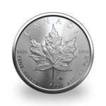 1 ounce Silver Maple Leaf - Monster box of 500 - 2021 - Royal Canadian Mint