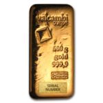 500 grams  Gold Bar - Valcambi